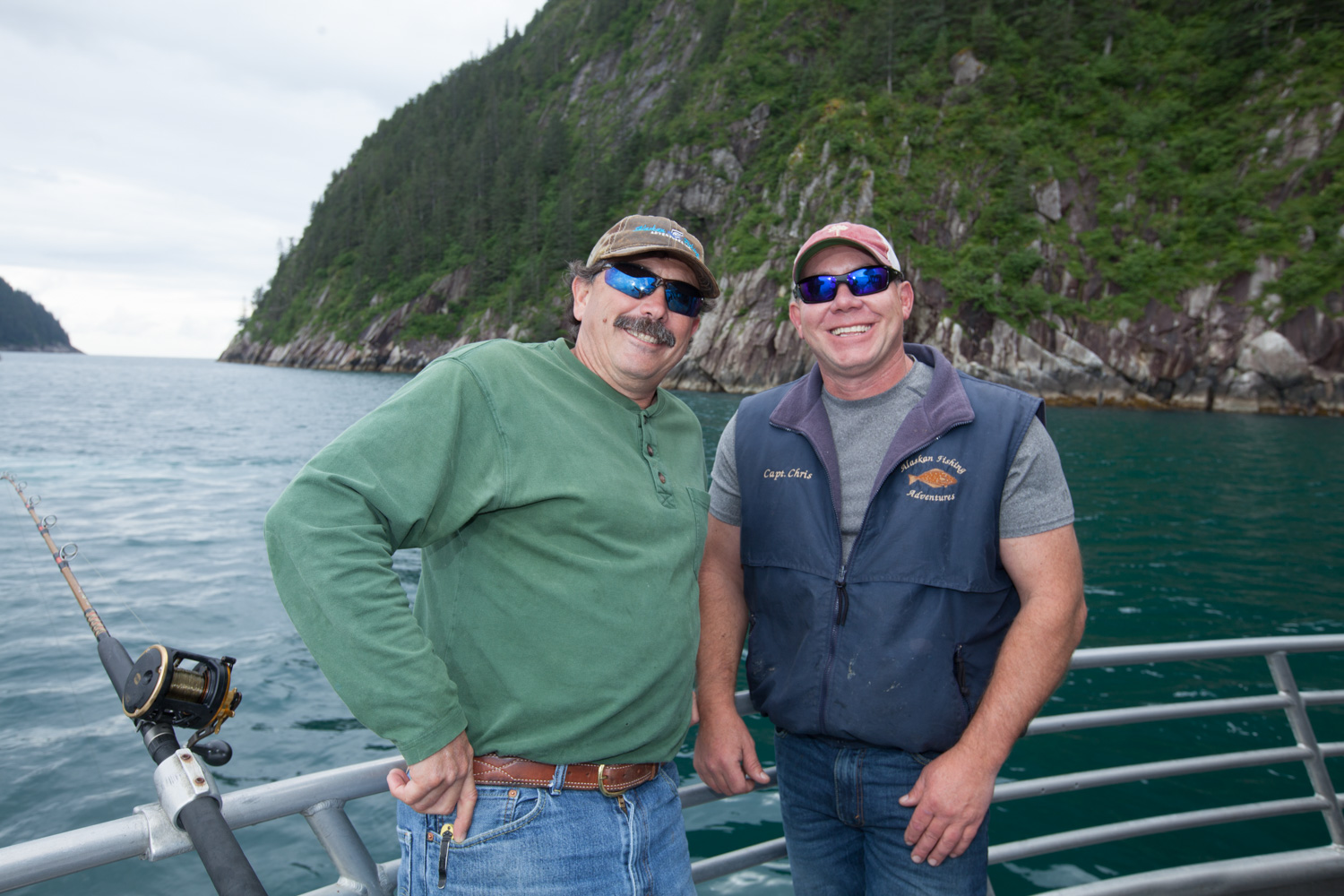 About us alaskan fishing adventures for Alaska fishing adventures